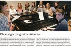 Zeitungsartikel HJK-Steinfeld Adventskonzert 2019